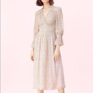 Rebecca Taylor Francesca Smocked Dress